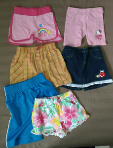 Lot short 2-3ans