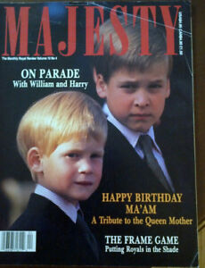 38 Copies of Majesty Magazine from the late 80's