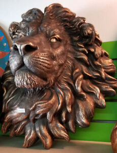 Carved Lion Head