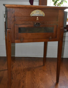 Antique Accent Furniture - Egg Incubator, Solid Oak