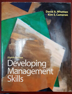 Developing Management Skills by Whetten