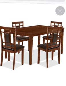 The brick dining set
