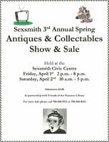 Sexsmith 3rd Annual Antique Sale