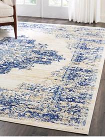 New XXL 300X240cm vintage print area rug