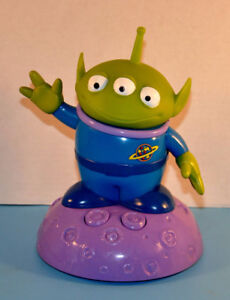 "Disney Toy Story Talking 9"" ALIEN Figure Desk Table Night Light"