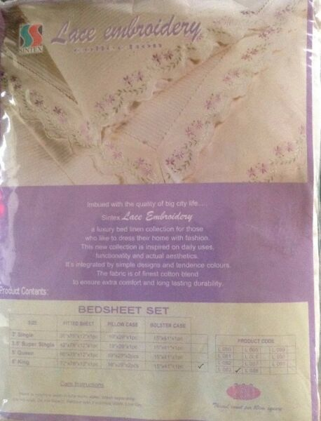 Sintex Lace Embroidery Collection