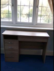 Wooden desks
