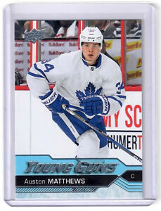 2016-17 Maple Leafs rookie Young Gun hockey cards!