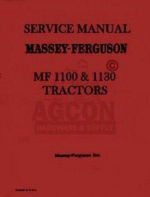 Massey Ferguson Mf 1100 Mf1130 Tractor Service Manual