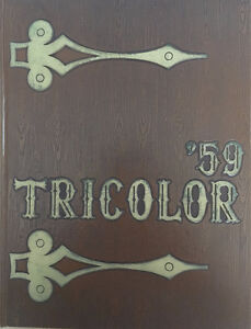 1959 Tricolor Yearbook
