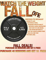 one on one personal training - HUGE FALL DEALS