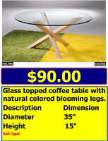 COFFEE TABLE BARGAINS