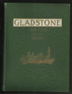 WILLIAM GLADSTONE. British Prime Minister -Vintage Victorian Bio
