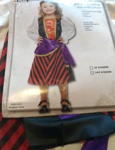 Pirate Maiden Toddler Halloween costume