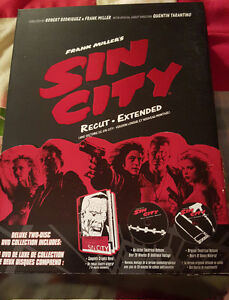 Sin City DVDs Collector Edition Comic Graphic Novel