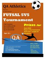 Futsal (soccer) tournament.