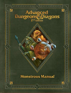 Dungeons & Dragons 2nd Edition Monstrous Manual