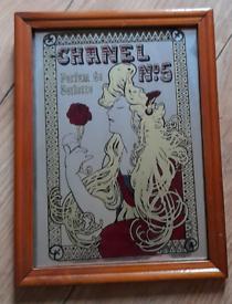 Retro Chanel picture mirror
