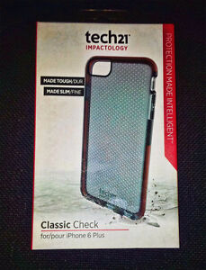 Coque protectrice anti-choc Tech21 pour iPhone 6 Plus – Neuf