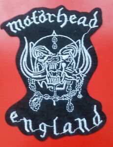 ECUSSON Patch  MOTORHEAD BAND Patch Lemmy metal BAND BIKER Badge