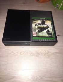 Xbox one with one controller and game