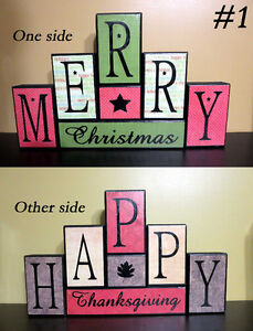 Reversible Holiday Blocks St. John's Newfoundland image 2