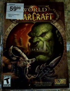 Warcraft Boxes and Manuals - no games