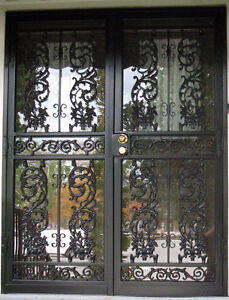Security Storm Doors & Wrought Iron Fences