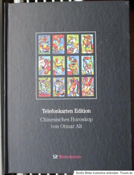 12 telefonkarten voll chinesisches horoskop buch otmar alt in nordrhein westfalen goch ebay. Black Bedroom Furniture Sets. Home Design Ideas