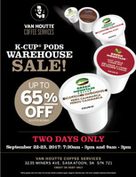 SUPER K-CUP® PODS WAREHOUSE CLEARANCE SALE