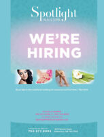 Nail Technician and Aesthetician required