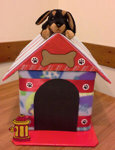 PUPPY DOGHOUSE BABY SHOWER GIFT