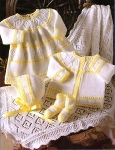 PREMATURE BABY OR DOLLS CLOTHES KNITTING PATTERN 12