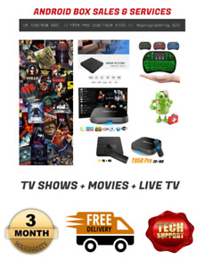 Android TV Box  (Ultimate Entertainment!)