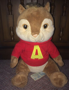 "Alvin & The Chipmunks ""Alvin"" Plush Stuffed Build A Bear 12 Inch"