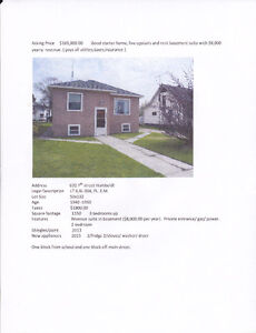 House  for sale with revenue suite