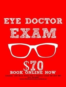 Complete Eye Exam by an Optometrist