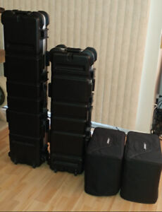 Bose L1 - Model 2 - 2 Sub B1 - Tonematch - 2 Case Transport SKB