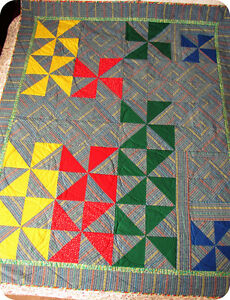 """""""GO BY THE COLOR"""" - QUILT Cambridge Kitchener Area image 1"""