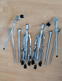 Pearl cymbal boom stand & hihats stand