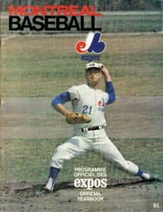Programme officiel des Expos Official Yearbook 1969.