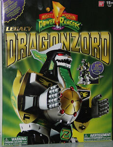 Legacy Dargonzord! NEW in Box! Power rangers. Collectible.