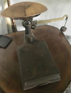 Antique Gurney Weigh Scales