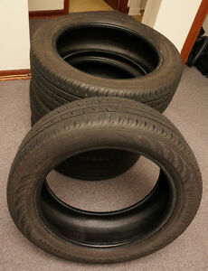 P215/55 R18 Continental ContiProContact Used tires For Sale