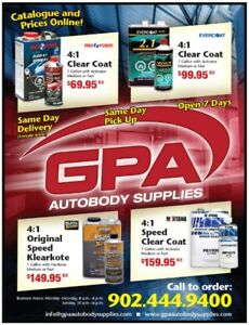 GPA Autobody Supplies ▪ Halifax ▪ Open 7 Days