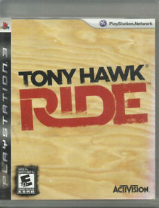 PS3 Tony Hawk Ride  Sony Playstation PS3 game game, case and man