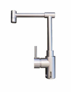 Rubinetterie Single-Handle Kitchen Faucets High Spout Nickel