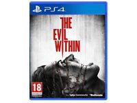 PS4 Preowned Evil Within Games 1 & 2 Set