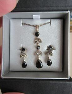LARUS Jewelry - Chandelier Necklace & Earrings - Sterling Silver