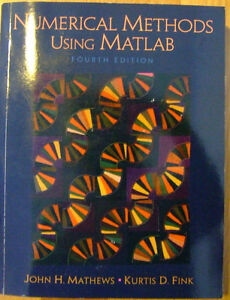 Numerical Methods using Matlab 4th edition Mathews Fink